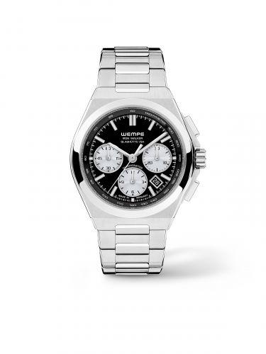 WI300001 : Wempe Glashütte I/SA Iron Walker Automatic Chronograph Black