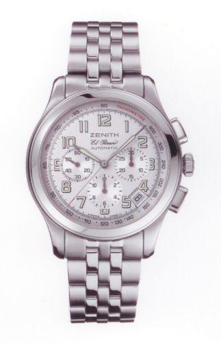 Zenith 03.0510.400/04.M510 : Class Sport El Primero Stainless Steel / Silver / Bracelet