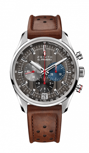 Zenith 03.2046.400/25.C771 : El Primero Chronomaster 42 Stainless Steel / Anthracite / Strap / Classic Cars