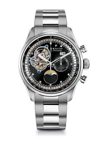 Zenith 03.2160.4047/21.M2160 : El Primero Chronomaster Grande Date Black Bracelet