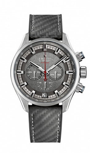 Zenith 03.2282.400/91.R578 : El Primero Sport Land Rover Bar Team Edition Stainless Steel / Slate / Rubber