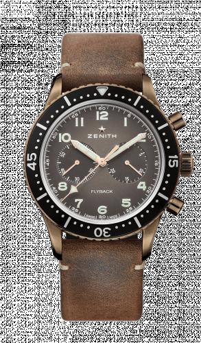 Zenith 29.2240.405/18.C801 : Cronometro Tipo CP-2 Flyback Bronze / Bronze